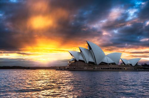 Sydney Gold - (Sydney Opera House, Australia)
