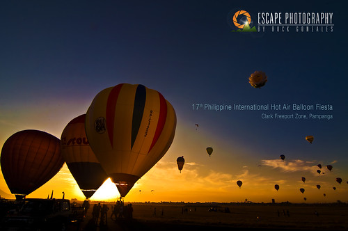 Philippine Hot Air Balloon Fiesta 2012