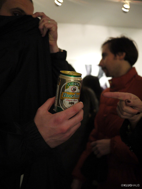 klughaus gallery exhibition beer sponsor
