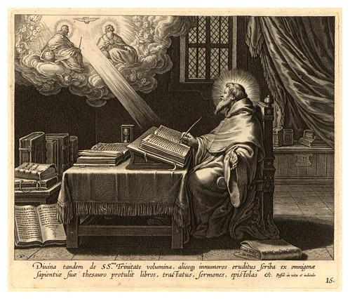 012-Iconographia magni patris Aurelli Augustini…1624-Grabados de Boetius Bolswert- Cortesia de Villanova University