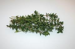 13 - Zutat Thymian / Ingredient thyme