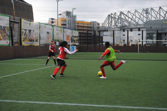 Premier league u13 girls football tournament - group stage 24/02/12