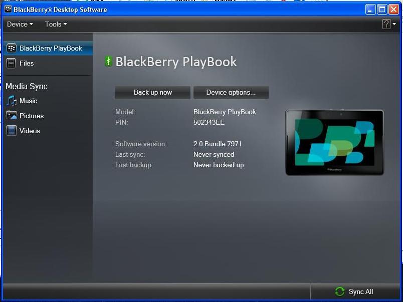 BlackBerry PlayBook Recovery Method - GSM-Forum