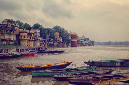 The Ganges river, Varanasi