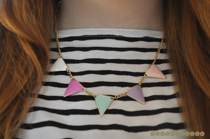 asos bunting necklace to keep or not return