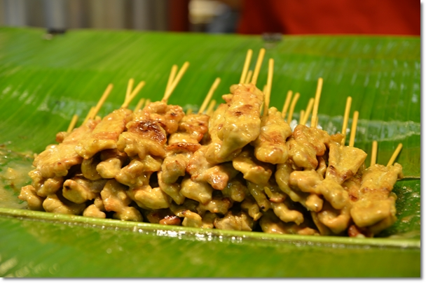 Grilled Marinated Pork Satay
