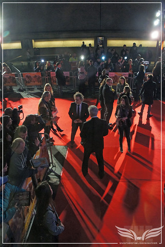 The Establishing Shot: UK John Carter Premiere Red Carpet Terry Gilliam, Dexter Fletcher - BFI, London by Craig Grobler