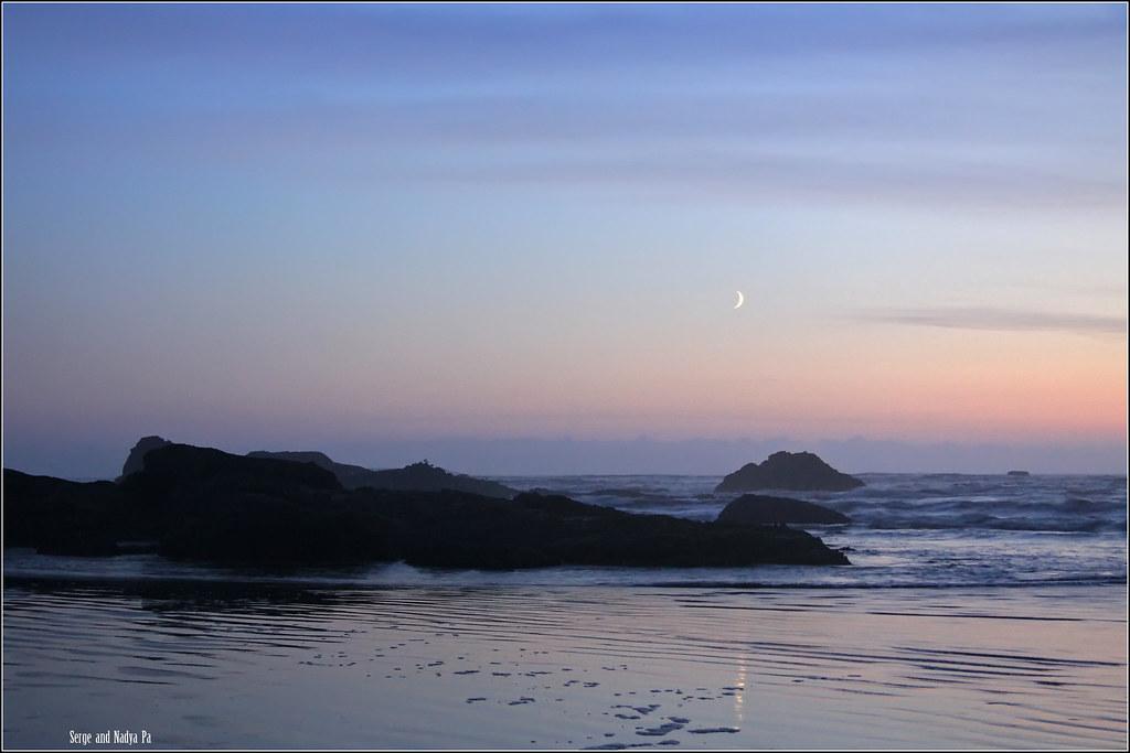 Ruby Beach - вечером