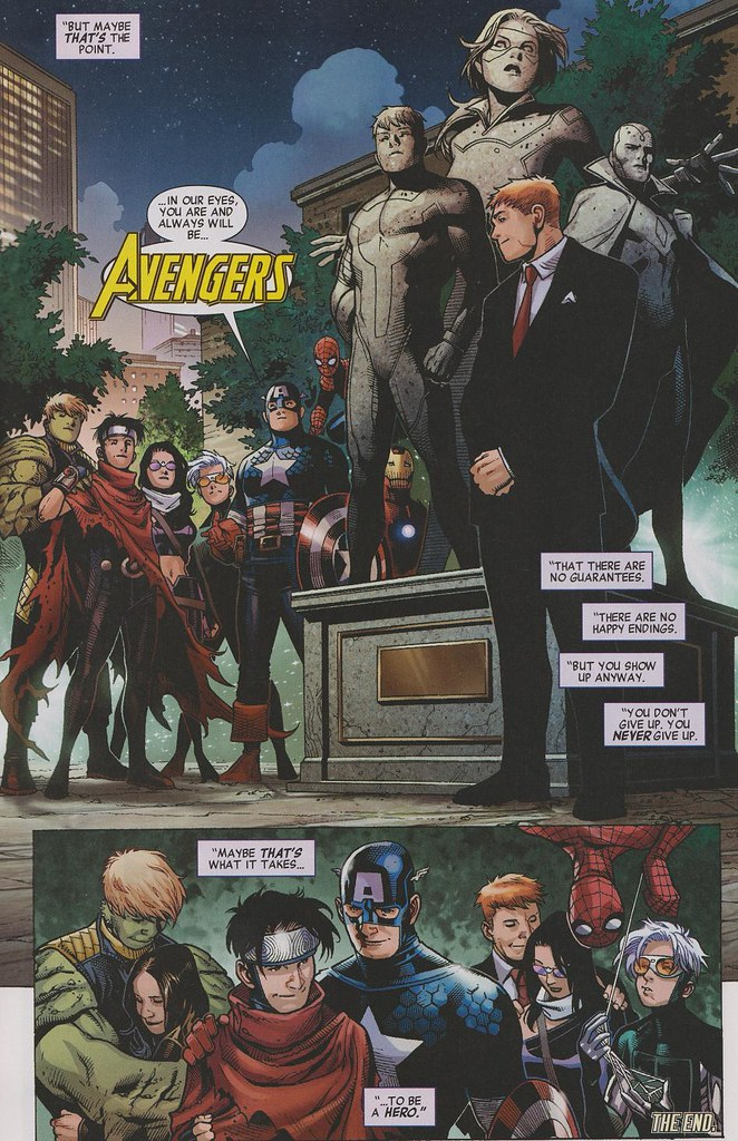 avengers children's crusade #9