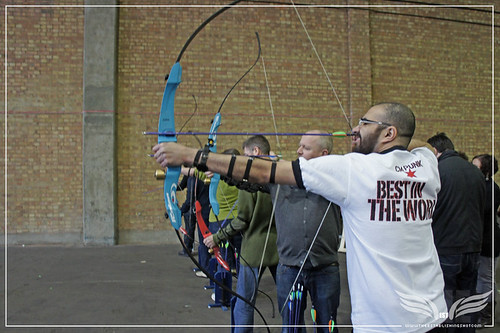 The Establishing Shot: War of the Arrows Archery Experience - 2020 Archery London by Craig Grobler