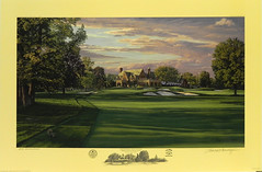 The 9th Hole, West Course, Winged Foot Golf Club, Mamaroneck, NY