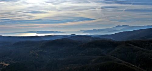 sea sky hill croatia kvarner primorje