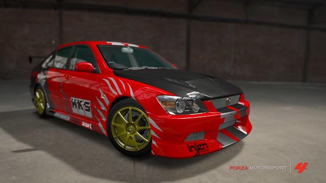 Toyota Altezza HKS 6968293554_6f6b350d7f_z