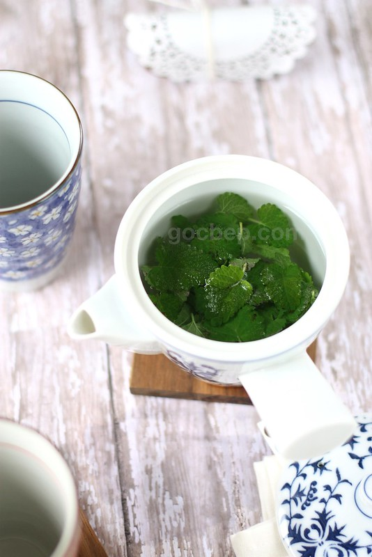 organic lemon palm tea