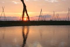 Danau Tempe, sunset