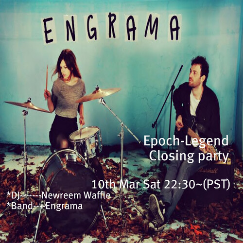 Engrama @ EPOCH Closing Party