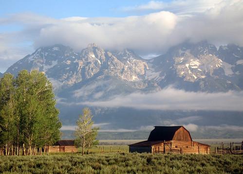 Dawn: Grand Teton