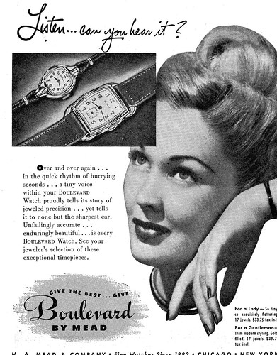1948 Mead Boulevard Watch Ad