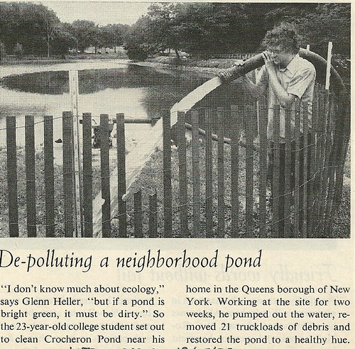 1972 De-Polluting A NYC Pond (12/15/72 Life Magazine)