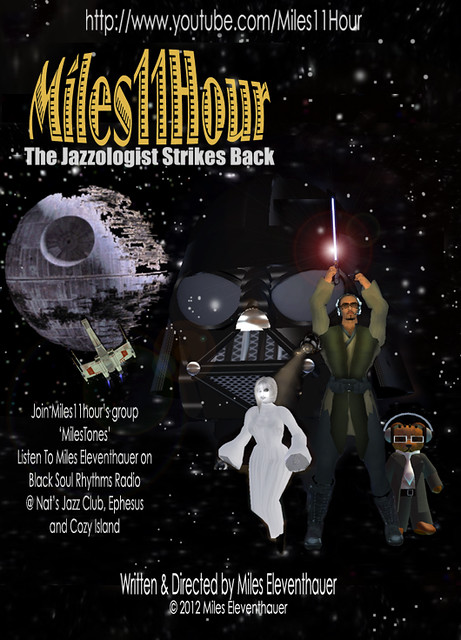 Miles11Hour 'The Jazzologist Strikes Back' Poster