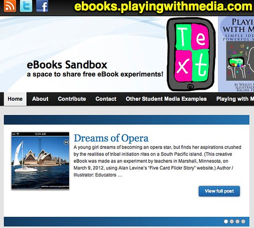eBooks Sandbox » a space to share free eBook experiments!