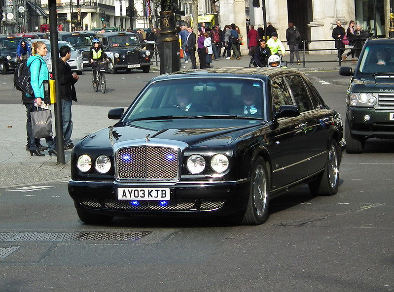Unmarked Bentley