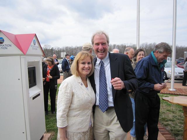 Mitch Bowman and Vicki Yates
