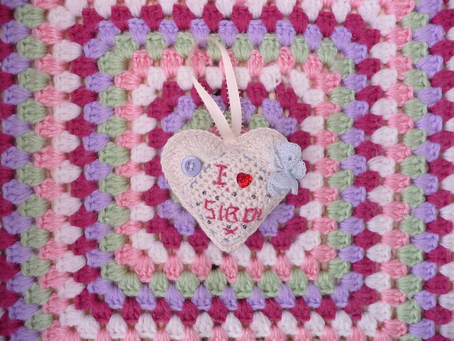 A beautiful 'SIBOL' Heart made for me by Kianie! Thank you!