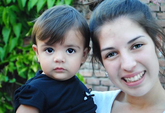 Lucía y Lara