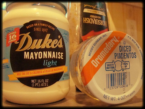 ingredients [minus the cheese]