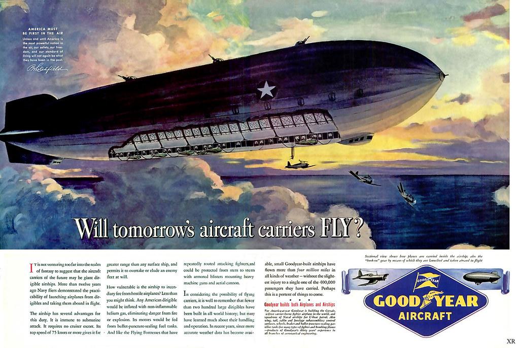 1943 ... Goodyear aircraft carrier!