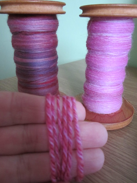 It's got to be pink spinning in progress (10)