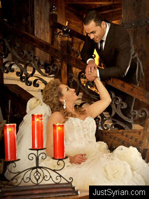 زواج قمر خلف و مهيار خضور