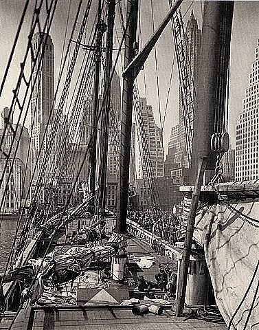 Theoline,' Pier 11, East River, New York
