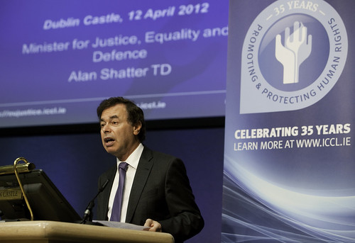 Minister Shatter at ICCL Victims' event, 12 April 2012