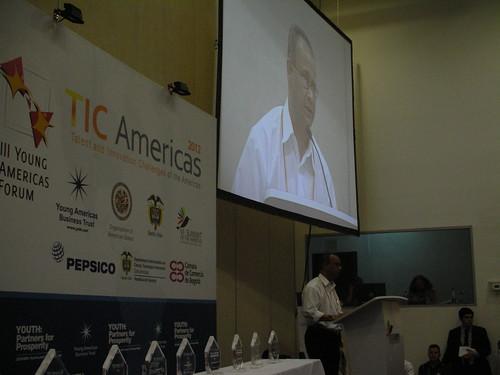 Culmina el Foro de Jóvenes de las Américas con la premiación a los participantes de la competencia al Talento y la Innovación de las Américas