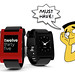 Pebble iPhone-Friendly Smartwatch