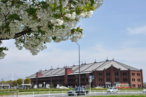 遠景・赤レンガ倉庫