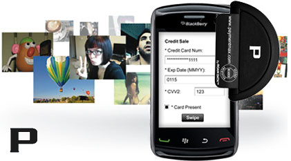 Blackberry Bank Card Credit Card Scan