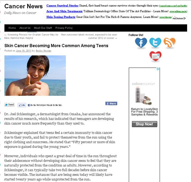 CancerNewscast.com