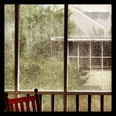 rain @ the beach