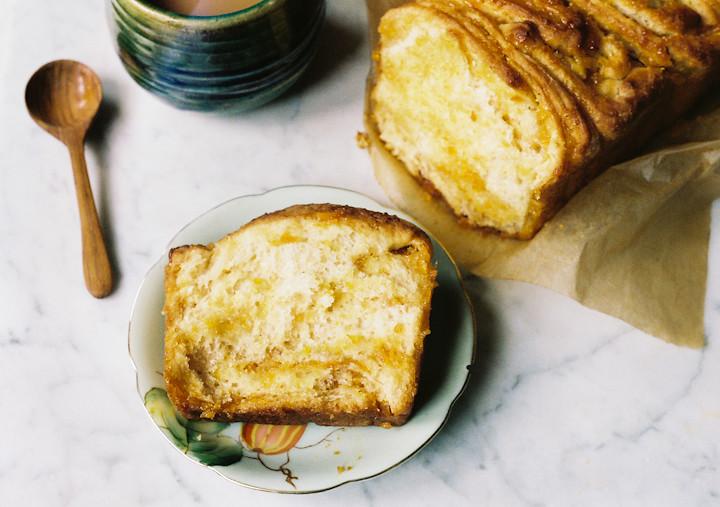 Marmalade Pull Apart Bread
