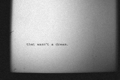 No fue un sueño