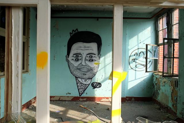 graffiti | irg | urbex | bärenquell brauerei