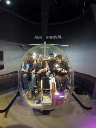 Helicóptero de ABBA museo abba - 13721735875 8898d147eb - Museo ABBA de Estocolmo, leyenda sueca del pop