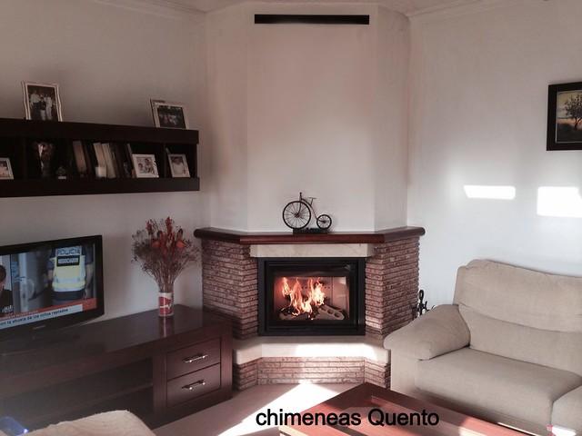 Chimenea quento f 216 con hogar dovre 2175 flickr - Chimeneas quento ...