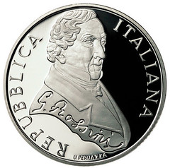 Italy Rossini 10 Euro coin obverse