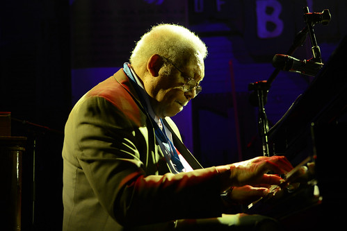 Ellis Marsalis at Piano Night 2014. Photo by Leon Morris.