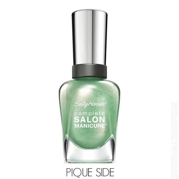Sally Hansen Complete Salon Manicure Pastels on Point - Pique Side