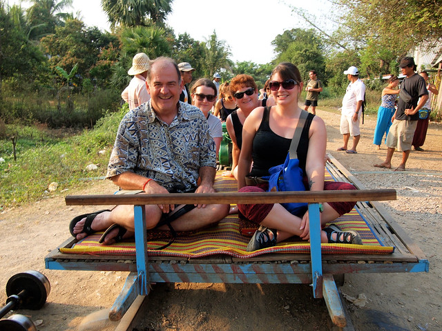 Intrepid tour mates in Cambodia